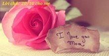 Những lời chúc 20/10 cho mẹ chồng hay và ý nghĩa nhất