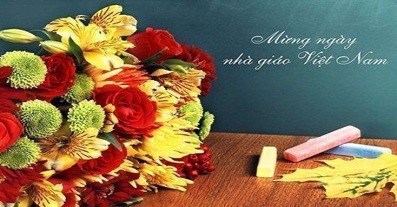 Những bài thơ về ngày 20/11 hay dành tặng thầy cô giáo