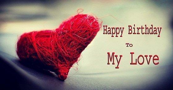 Lời chúc sinh nhật dành cho người yêu