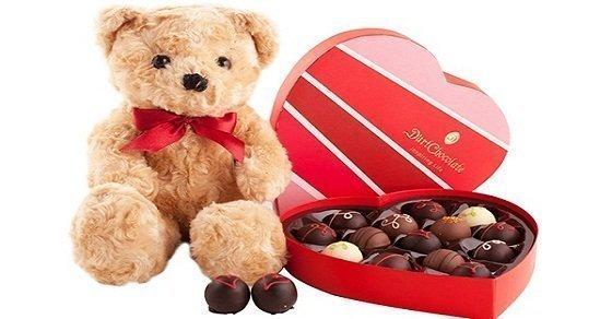 Tặng quà valentine cho bạn gái mới quen