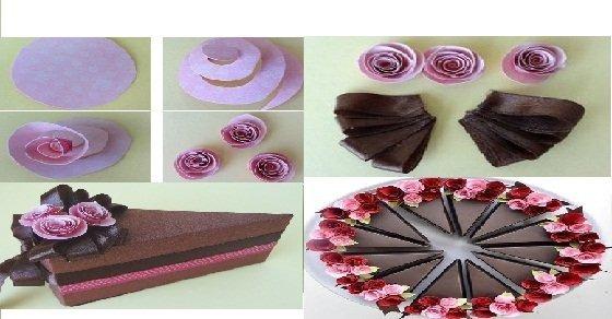 Quà hình miếng bánh socola valentine ý nghĩa