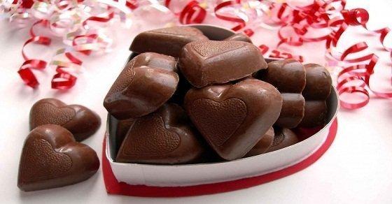 Socola Valentine ngọt ngào