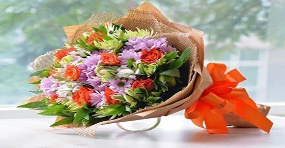 Bó hoa xinh tươi mừng thọ ý nghĩa
