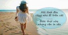Tuyển tập những câu nói, stt về bãi biển và bờ cát trắng trên facebook