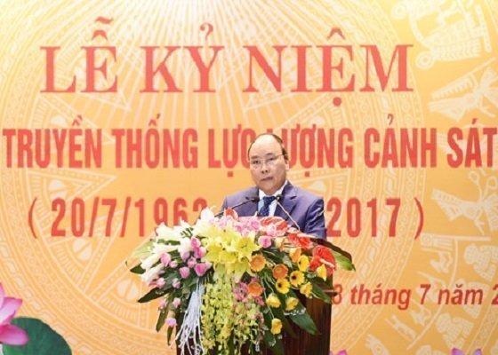 Kỉ niệm ngày cảnh sát nhân dân Việt Nam