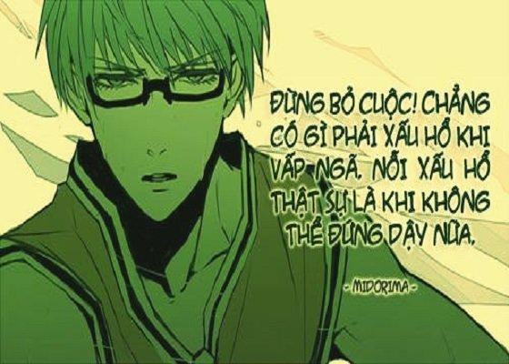 Những câu nói hay trong anime