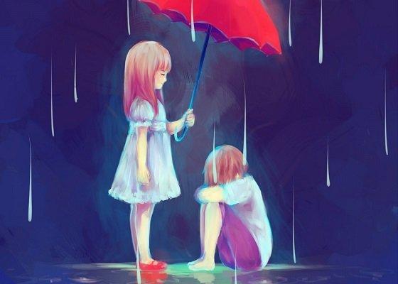 Stt tâm trạng ngày mưa đong đầy cảm xúc