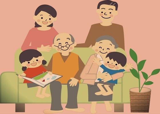 Tình cảm gia đình êm ấm