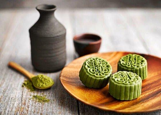 Công thức làm bánh trung thu vị trà xanh ngon tuyệt