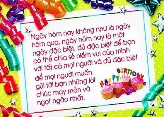 Stt chúc mừng sinh nhật bạn trên facebook ý nghĩa