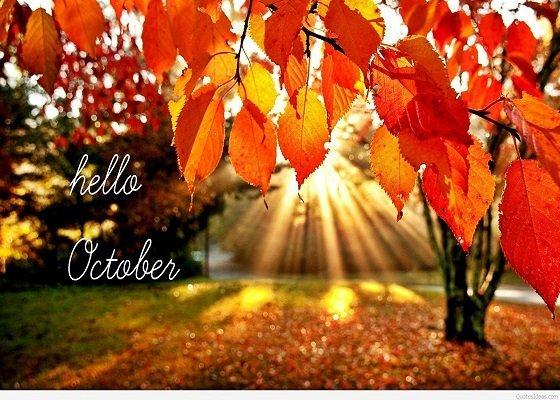 Chào tháng 10
