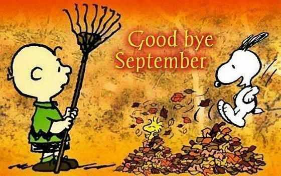 Những câu nói hay chào tạm biệt tháng 9