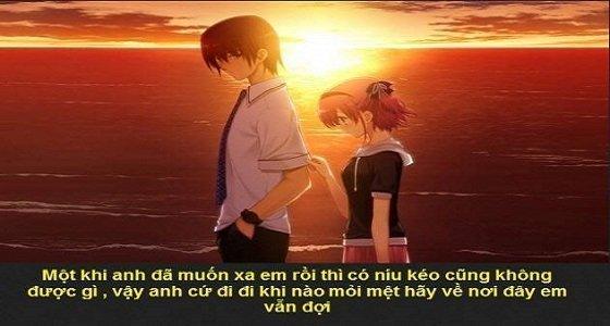 Hình ảnh buồn về tình yêu 1