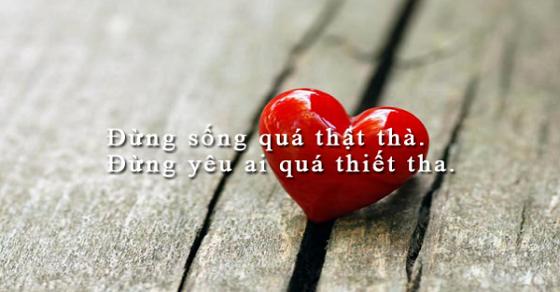 Những câu nói buồn về tình yêu