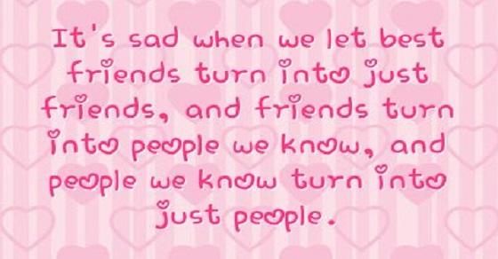 Câu nói hay nhất về tình bạn tan vỡ