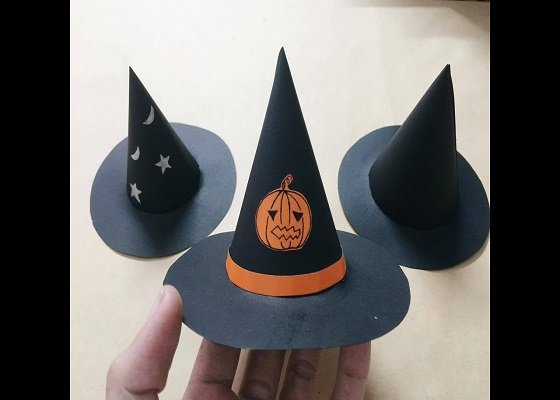 Nón phù thủy cho mùa Halloween