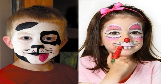 Trang điểm Halloween cho trẻ em