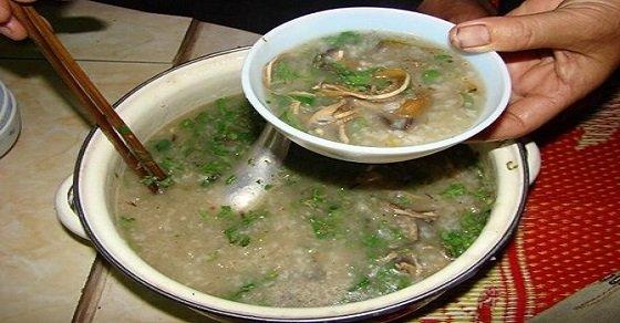 Cách nấu cháo lươn Nghệ An cho người ốm