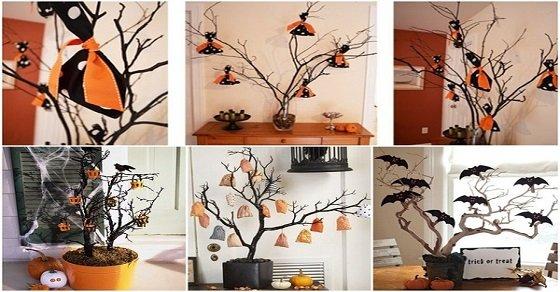 Trang trí halloween rùng rợn handmade cho quán cafe và cho lớp học