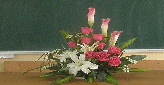 Cắm hoa chủ đề 20 tháng 11