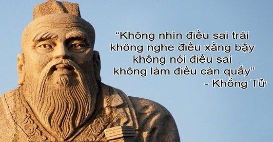 Những câu nói hay, ý nghĩa của Khổng Tử