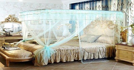Trang trí phòng cưới với màn khung vuông