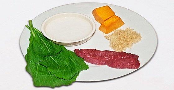 Nguyên liệu nấu cháo thịt bò cho bé ăn dặm