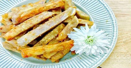 Cách làm khoai tây chiên nước mắm