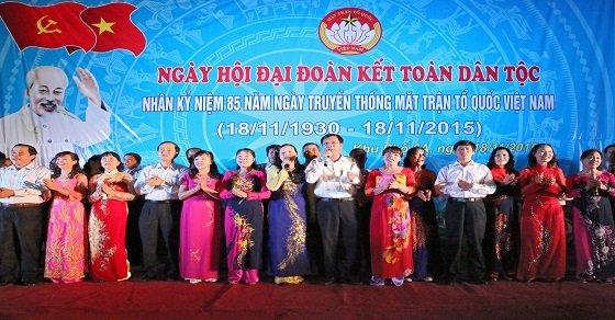 Kỉ niệm ngày hội đại đoàn kết toàn dân tộc