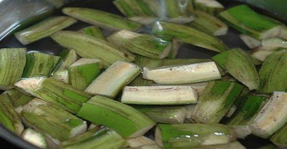 Món canh ốc nấu chuối đậu rất phù hợp với thời tiết se lạnh này