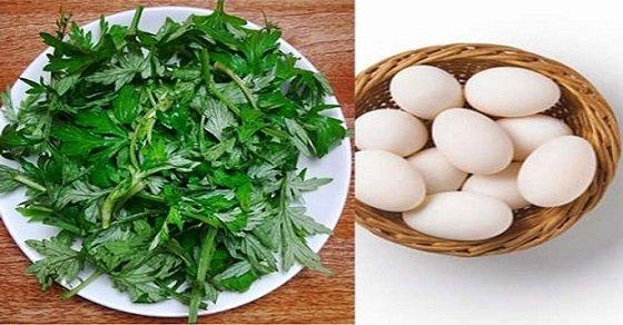 Trứng vịt lộn hầm ngải cứu là món ăn bổ dưỡng cho sức khỏe