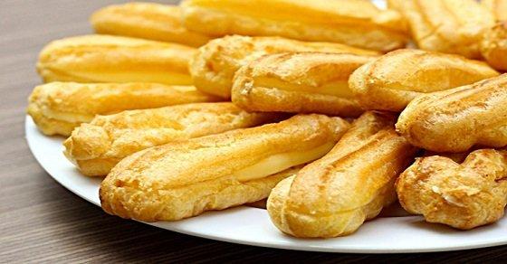 """Bánh su nhân kem – món ăn """"cộm cán"""" trong danh sách các món ăn mùa đông"""