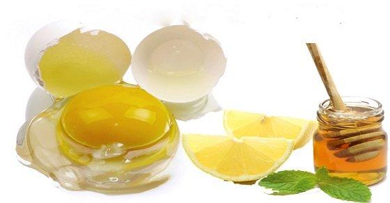 Mẹo vặt làm đẹp tự nhiên da mặt từ mật ong, chanh tươi và trứng gà