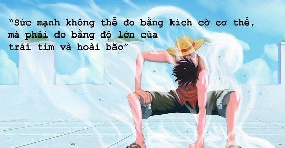 Câu nói hay trong anime One piece