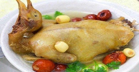 Chim bồ câu hầm thuốc bắc hạt sen – thức ăn dinh dưỡng cho bà bầu
