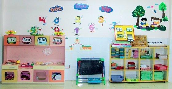 Mẫu trang trí tường 2_Cách trang trí lớp học ngày 20 -11