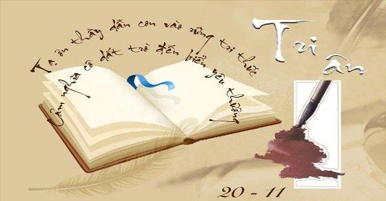 Những lời tri ân thầy cô nhân ngày 20 – 11