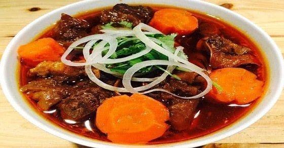 Món thịt bò kho ngũ vị hấp dẫn