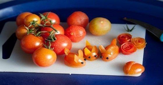 Những chú thỏ xinh xắn phù hợp với cách trang trí món ăn cho bé