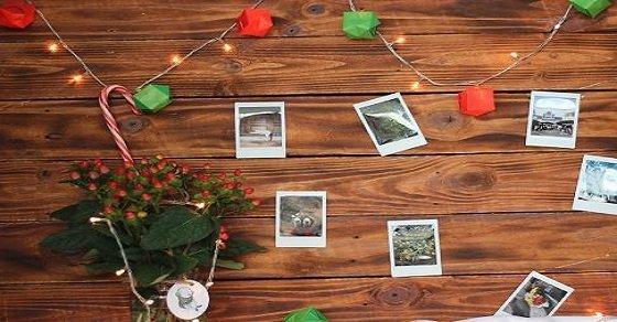 Trang trí văn phòng mùa noel bằng giấy màu vô cùng đơn giản