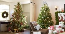 Cách trang trí cây thông noel đơn giản đẹp trong nhà