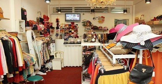 Cách trang trí shop quần áo nhỏ đẹp