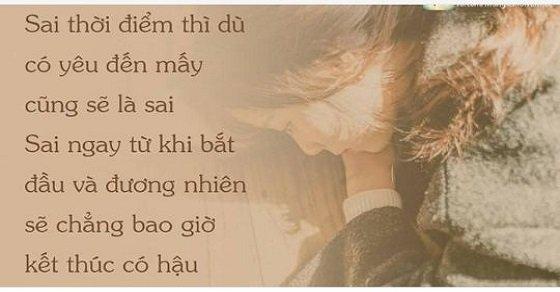 Câu stt buồn về tình yêu hay nhất
