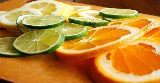 Dùng cam, chanh như một loại thuốc chữa nhiệt lưỡi