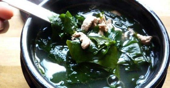 Canh rong biển thịt bò thơm mát, bổ dưỡng