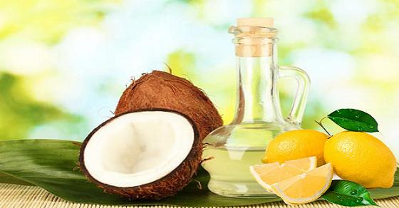 Cách chữa viêm lỗ chân lông bằng dầu dừa và chanh