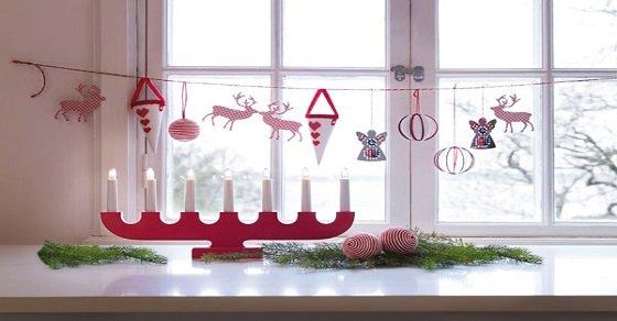 Cửa sổ đẹp xinh mang ý tưởng trang trí Noel