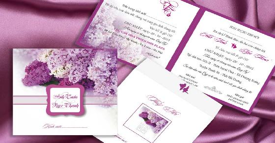 Mẫu viết thiệp mời đám cưới
