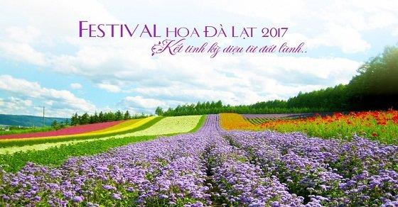 Festival hoa Đà Lạt ngày bao nhiêu