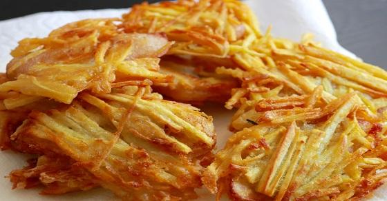 Bánh khoai lang ngọt bùi - một trong các loại bánh ngon đơn giản dễ làm